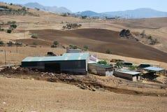 Exploração agrícola perto de Almogia, a Andaluzia, Spain. Fotos de Stock Royalty Free