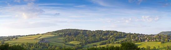 Exploração agrícola rural idílico, Cotswolds Reino Unido fotos de stock royalty free