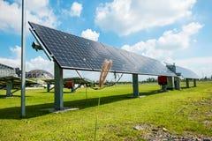 Exploração agrícola solar Fotos de Stock