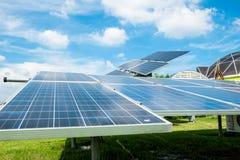Exploração agrícola solar Foto de Stock Royalty Free