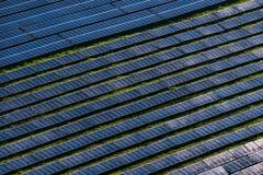 Exploração agrícola solar Imagens de Stock Royalty Free