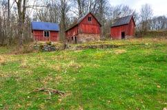 Exploração agrícola sueco velha Imagens de Stock
