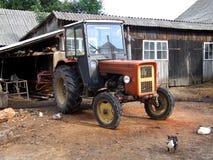 Exploração agrícola velha Fotos de Stock