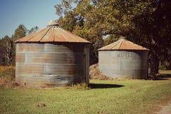 A exploração agrícola velha Fotografia de Stock Royalty Free