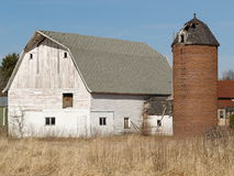 Exploração agrícola velha Imagens de Stock Royalty Free