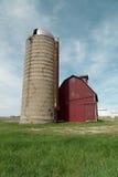 Exploração agrícola vermelha Imagens de Stock Royalty Free