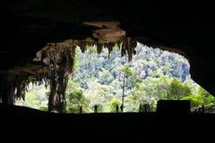 Exploração da caverna Imagens de Stock