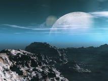 Exploração de Exoplanet Imagens de Stock