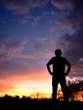 Exploração do crepúsculo Foto de Stock Royalty Free