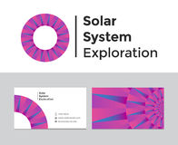Exploração do sistema solar Fotos de Stock