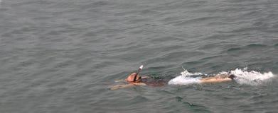 Exploração subaquática Foto de Stock Royalty Free