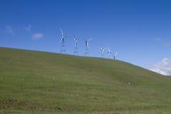 Explorações agrícolas do moinho de vento em Califórnia do norte Fotografia de Stock Royalty Free