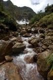Explorações de Dominica Foto de Stock