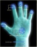 Exploración de la seguridad de la mano Fotos de archivo