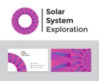 Exploración de la Sistema Solar Fotos de archivo