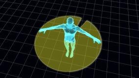 Exploración del cuerpo de la malla Imagen de archivo