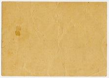 Exploración del papel viejo (postal) imágenes de archivo libres de regalías