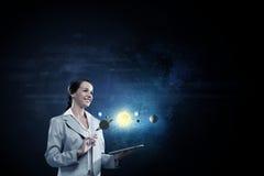 Exploración espacial Foto de archivo libre de regalías