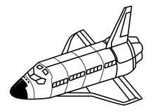 Exploración espacial e historieta de los planetas stock de ilustración