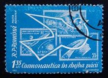 Exploración espacial pacífica, circa 1962 Fotografía de archivo libre de regalías