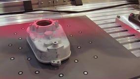 Exploración robótica del sistema 3d metrajes