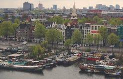 Exploración urbana en la ciudad de Amsterdam Fotos de archivo
