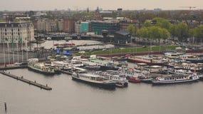 Exploración urbana en la ciudad de Amsterdam Fotos de archivo libres de regalías