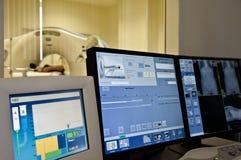 Exploración de MRI Foto de archivo libre de regalías