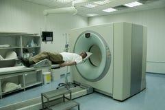 Exploración paciente Fotografía de archivo