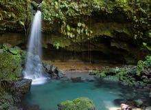 Exploraciones de Dominica Fotos de archivo