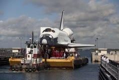 Explorador da que orbita da canela de espaço Fotografia de Stock Royalty Free