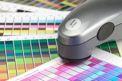 Explorador de color imágenes de archivo libres de regalías