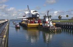 Explorador de la órbita de la lanzadera de espacio Imágenes de archivo libres de regalías