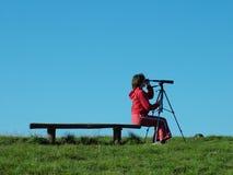 Explorador de la naturaleza Imagen de archivo