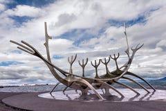 Explorador de Sun islândia Fotografia de Stock