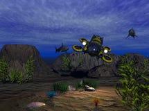 Explorador do mar Imagens de Stock