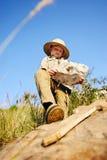 Explorador joven Foto de archivo libre de regalías