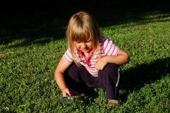 Explorador pequeno Foto de Stock Royalty Free