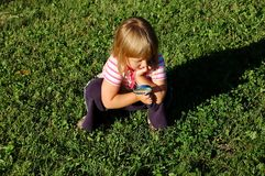 Explorador pequeno Fotos de Stock