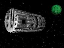 Exploradores de espaço Imagem de Stock