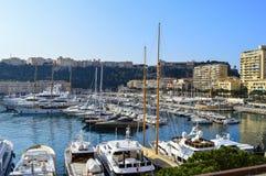 Explorando o principado de Mônaco Fotos de Stock Royalty Free