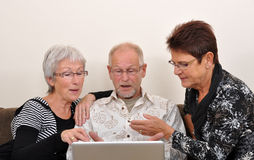 Explorando o Web Fotografia de Stock