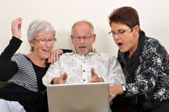 Explorando o Web Imagens de Stock Royalty Free