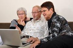 Explorando o Web Foto de Stock Royalty Free