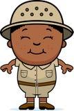 Explorateur de garçon illustration stock