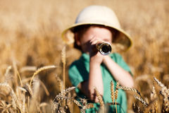 Explorateur de nature Image libre de droits