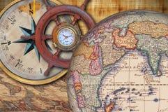Exploratie en ontdekking Stock Afbeeldingen