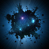 Exploration. In the galaxy...flare Stock Photo