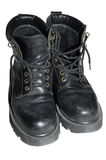 Exploration & Adventure. It is an image you want to give the sense of adventure with old boots Royalty Free Stock Images
