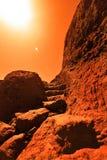 Exploration d'espace Photo stock